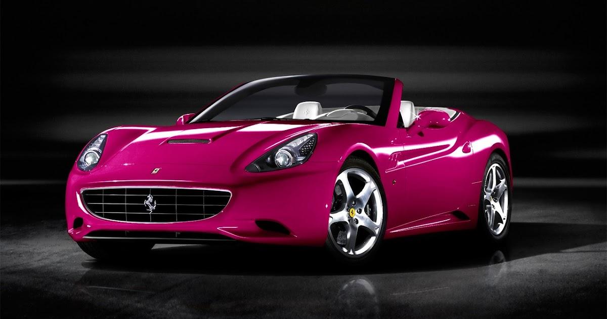 Automotive Car: A Ferrari California com várias opções de ...
