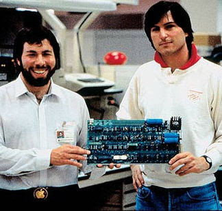 Los Steves (Jobs y Wozniak)