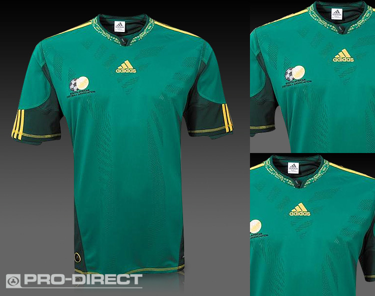 adidas South Africa World Cup 2010 Soccer Jersey (Away ...  South Africa Soccer Jersey
