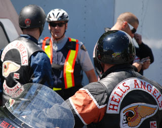 """HELLS ANGELS BIKER OUTLAWS: """"Nomads"""" of the Hell's Angels are kind"""