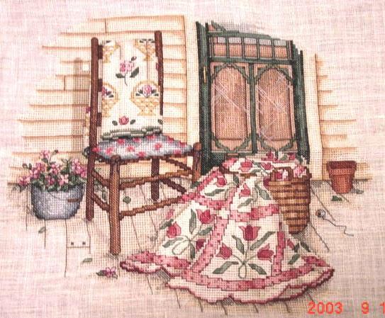 Angela S Cross Stitching Paula Vaughan Designs
