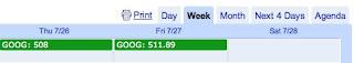 Google Calendar Börsen-Termine