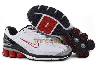 quality design bf71f fd1b0 ... blanc nike shox r6 sneaker