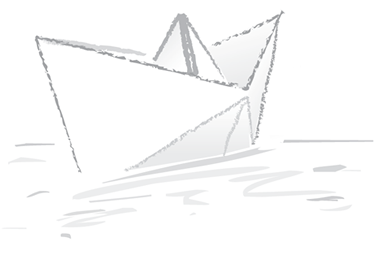 La Pecora Nera: Origami come costruire una barchetta