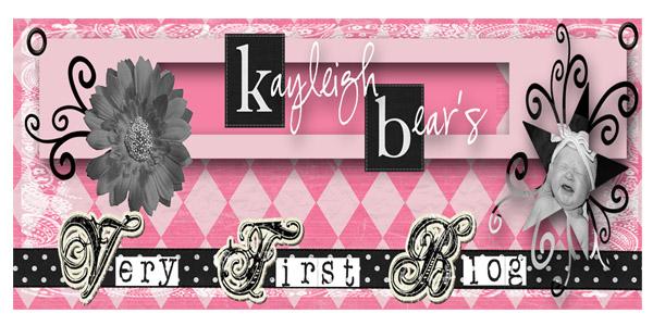 Kayleigh Bear's Blog