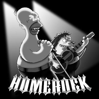 Imagenes de Los Simpsons relacionadas con el Rock