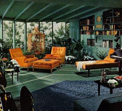 Damsels Desire: 1950's interiors