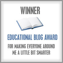 Winer Educational Blog Award