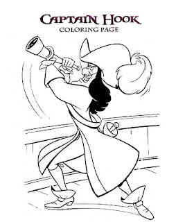CAPTAIN HOOK COLORING PAGES « Free Coloring Pages
