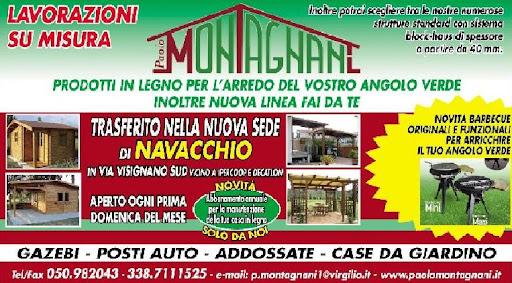 Montagnani Paolo Srl Strutture In Legno Ripostiglio Gazebo