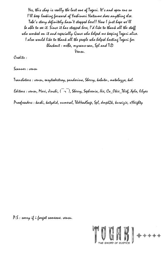Togari chapter 68 - end trang 23