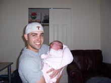 Papa B and baby M