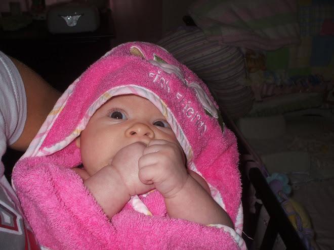 Maddy after a bath