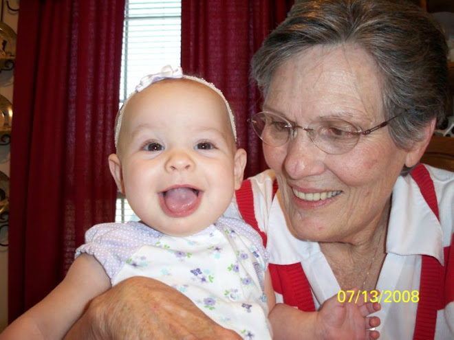 Great Grandma Bristow and Maddy