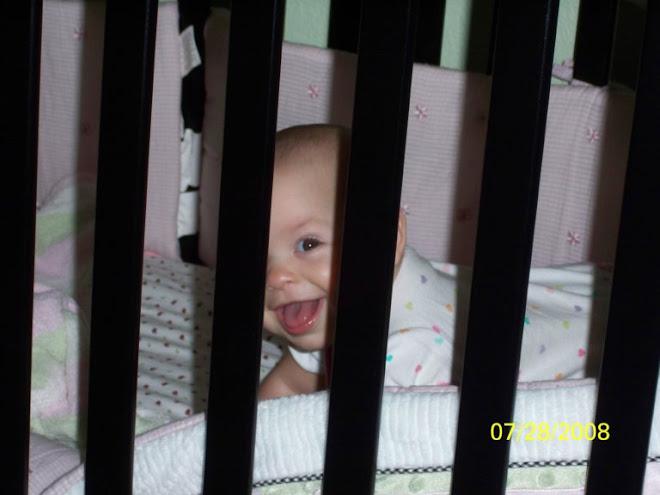 Madelyn behind bars