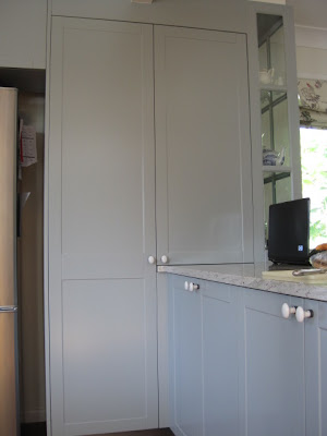 Organizing a Pantry, Pantry Ideas and Inspiration, Natasha in Oz, Grey Kitchen, Pantry