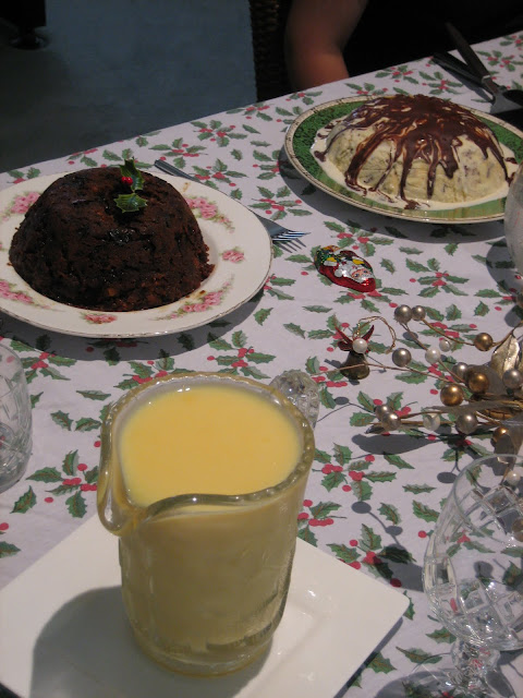Festive and Decadent Christmas ice-cream pudding recipe.