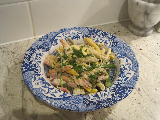 Recipe, Creamy Vegetable and Ham Pasta, Pasta,