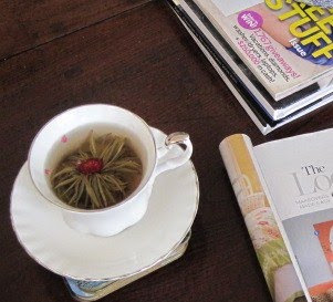 Tea Time with Natasha in Oz: Buddha Ball Jasmine Tea