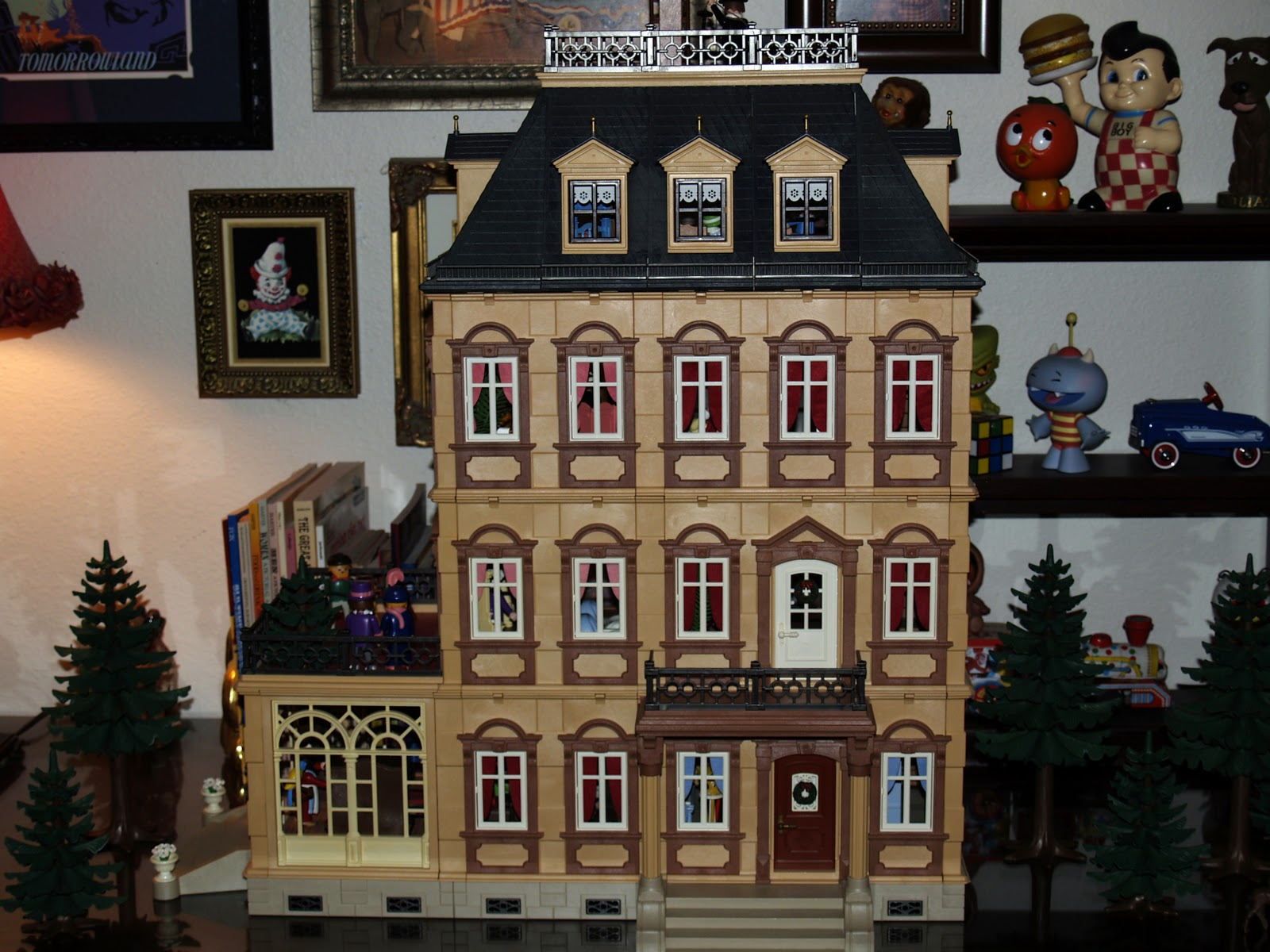 Dollhouse Playmobil Pop Circus Show Tell Our Playmobil Victorian Dollhouse A