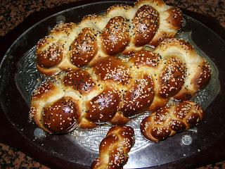 recettes  Pain torsadé du Shabbat