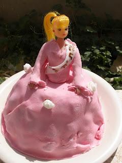 recettes dessert  Gâteau de Barbie