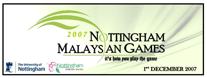 Nottingham Malaysian Games 2007