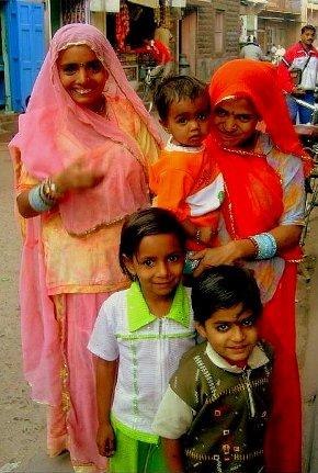 familia hindú