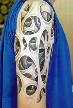 Awesome 3d Arm Tattoos