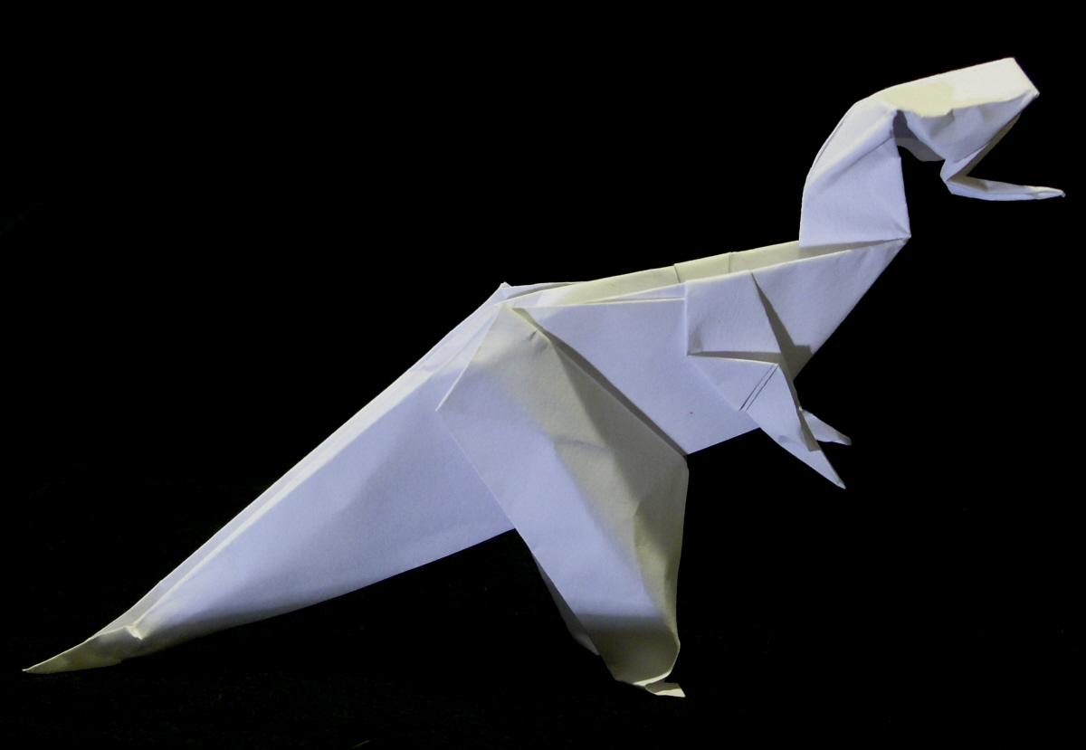 sketches: Dinosaur Oragami - photo#38