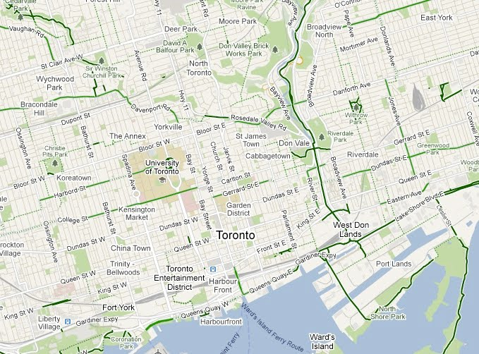 Google Lat Long: Gearing up: Biking directions added to Google Maps on google chrome maps driving directions, google maps car, google maps street view, google map toronto on, google maps logo, maps and directions, google earth satellite maps,