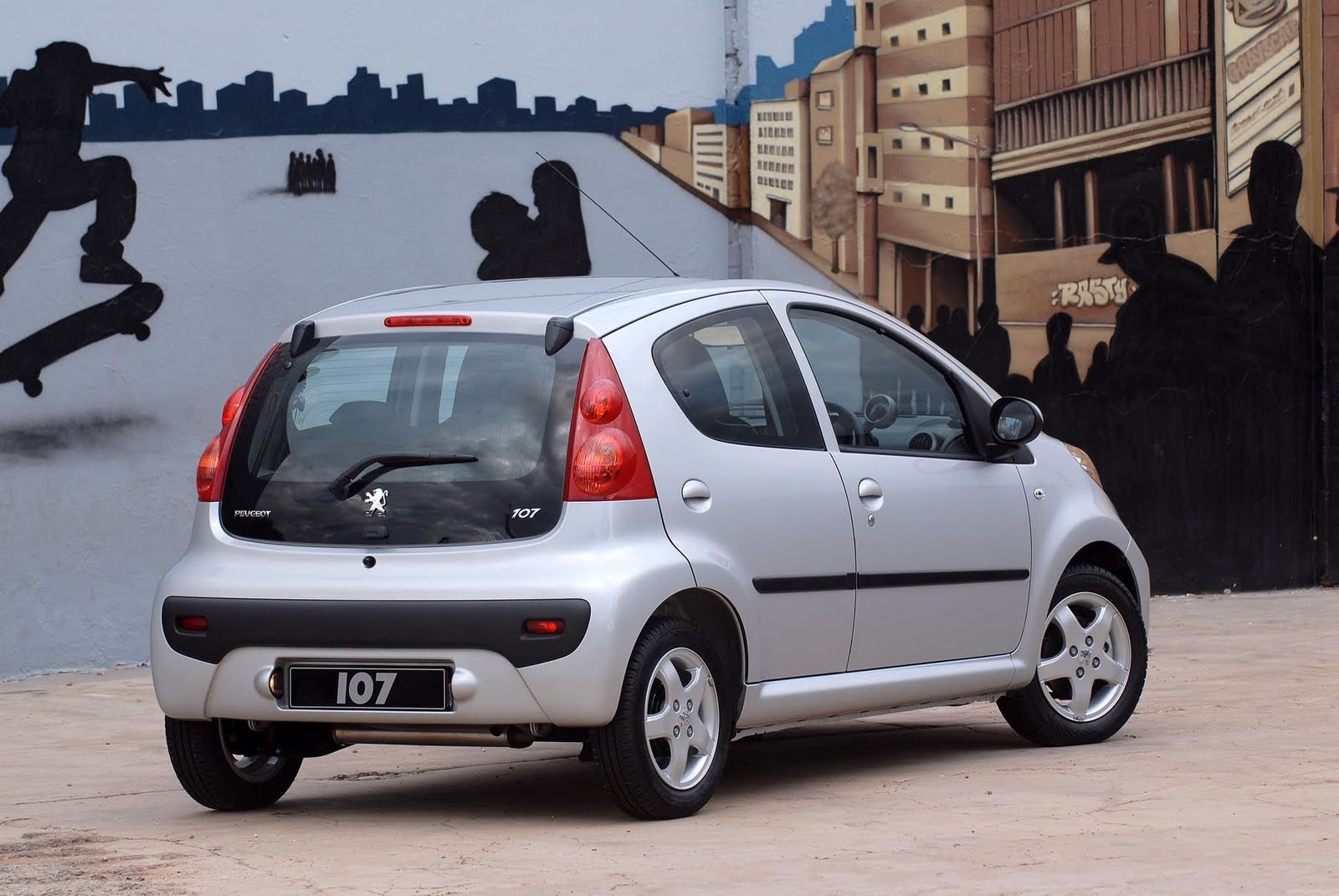 IN4RIDE: TRENDY PEUGEOT 107 NOW EVEN MORE AFFORDABLE