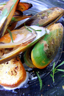 Fresh Approach Cooking: Grilled Green Lip Mussels With ...