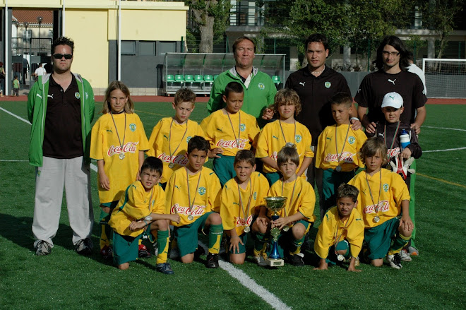 O PLANTEL DO SPORTING 06/07