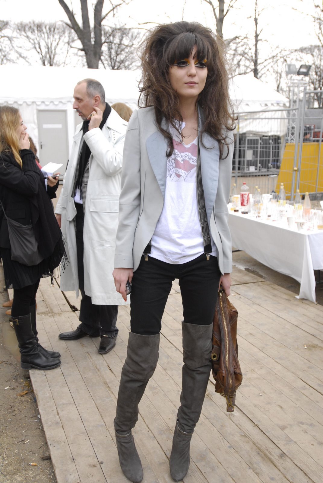 That Hair, Those Boots