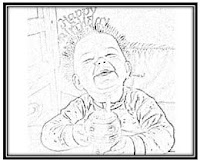 Designs by Birgit: Creative with Photos: Personalized Coloring