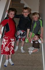 My boys....minus the dad