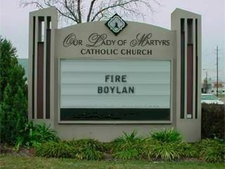 Even Jesus wants Jim Boylan fired
