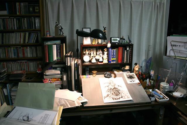 meja gambar