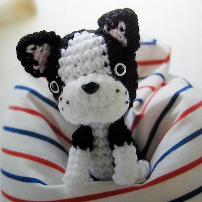 Amigurumi Boxer Dog : felt cafe: japanese craft books at my etsy shop