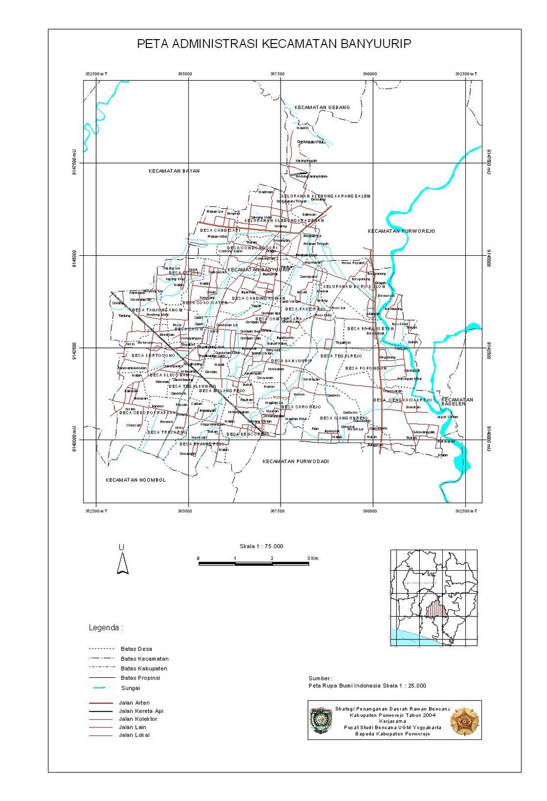 Sadat Go!BLOG : Nama-nama Desa/Kelurahan di Kecamatan ...