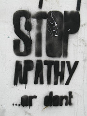Stop apathy..or not