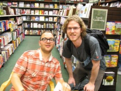 Cory Doctorow and yours truly