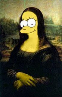 monasimpsons - Some versions of Mona Lisa