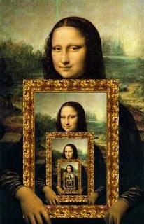 monaquadro - Some versions of Mona Lisa