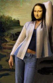 monacasual - Some versions of Mona Lisa