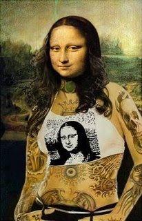 monaalterna - Some versions of Mona Lisa