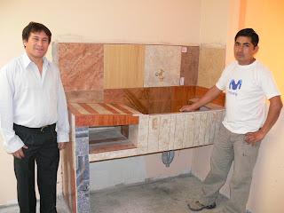 Proyectos jose feliz vega detalles en el enchape for Modelos de lavaderos