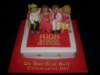 First Holy Communion High School Musical Cake