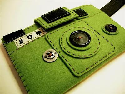 Оригинальный чехол для цифровой фотокамеры, вариант 1
